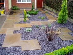 Slate Chips Outdoors Pinterest Gardens Garden Ideas And Slate
