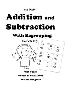 Subtraction Fluency: Subtract within 10 Timed Tests