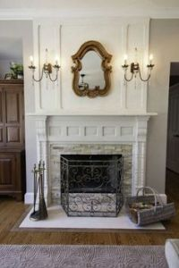 Fireplace Mantels on Pinterest | Mantels, Mantles and ...