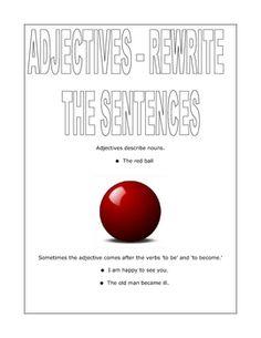 A List of Descriptive Adjectives. Building vocabulary and