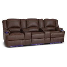 sectional sofa under 2000 fusion furniture 1140 grande mist kennelly leather modular | reclining ...