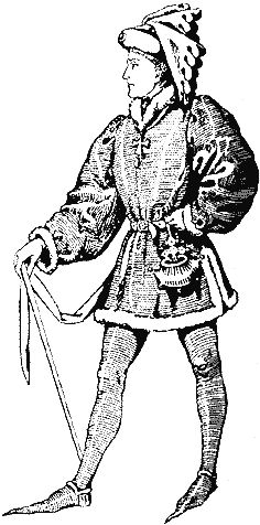 Surcote—An outer tunic worn over the cote. Sometimes