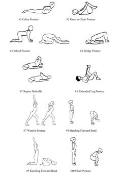 1000+ images about Low Back Pain Exercises on Pinterest