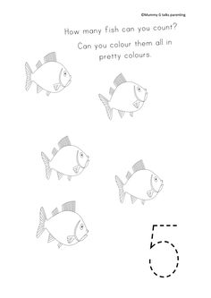 FREEBIE Under the sea themed animal matching worksheet