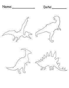 Printable Dinosaur Bones Coolest Free Printables