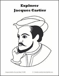 jacques cartier printable