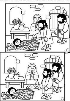 Lesson: Jesus gives life (Luke 8:40-56; Mark 5:21-42) 1