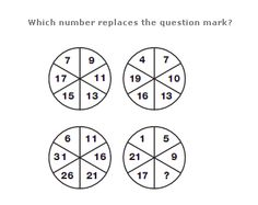 1000+ images about Non-verbal reasoning on Pinterest