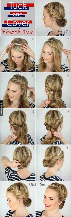 Romantische Eindrehfrisur Mit Haarband Selber Machen Jule Haare