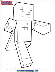 1000+ images about Minecraft Coloring Pages on Pinterest