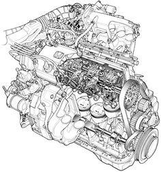 Mechanical Engineering Drawing, Frontenac Aluminium Motor