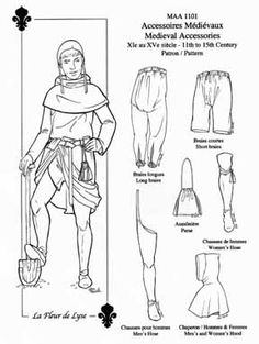1000+ images about Costume History: Medieval Garment