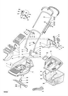 Mountfield SP 555 Spares Part Diagrams 292552038 2009