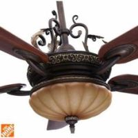 "56"" Casa Esperanza Teak Finish Blades Ceiling Fan"