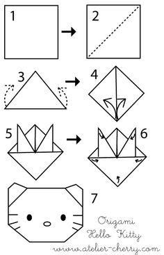 origami diagram marcapaginas3. cover the corner