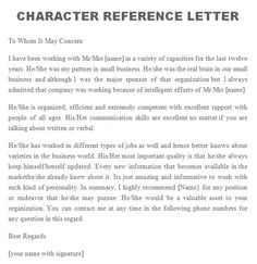 character letters for court templates  Google Search  LETTERS  Pinterest  Letter sample