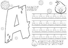 ANGRY BIRDS Play Money Dollar Bill Coloring Page RED Girl