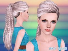 Newsea S Sand Glass Hairstyle Retextured By Sjoko For Sims 3
