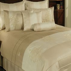 Taupe And Chocolate Hotel Spa Collection Duvet Comforter