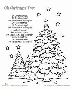 Christmas Kindergarten Holiday Holidays Worksheets: 'We