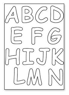 1000+ images about alphabet stencils on Pinterest