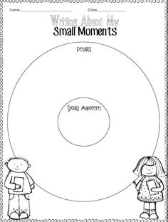 1000+ images about Personal Narratives // Small Moments on