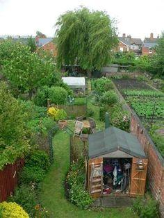 Long Narrow Garden Ideas Exploring Long Garden Design Ideas