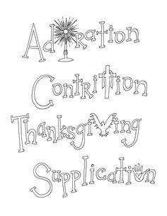 Fulton Sheen Free Printable Coloring Page- Humility-