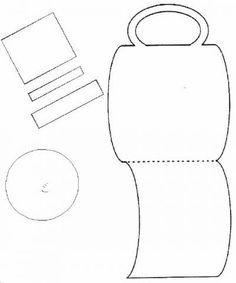 Greek Column pattern. Use the printable outline for crafts