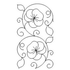 Umbrella pattern. Use the printable outline for crafts