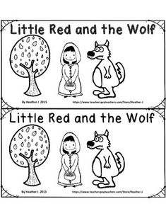 1000+ images about Book: Little Red Riding Hood on