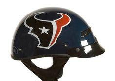 Cool Houston Texans Nfl Pro Football Licensed Motorcycle Helmet