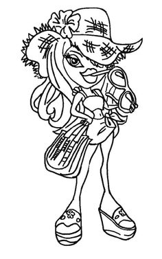 Bratz dolls coloring pages for kids, printable free