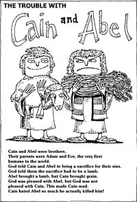 Cain and Abel Sunday School Crossword Puzzles: Your kids