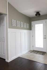 photos of craftsman style wainscot moldings