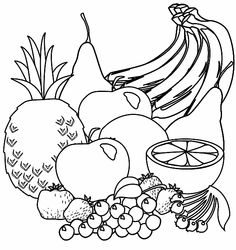 1000+ images about Food Mandalas & Coloring on Pinterest