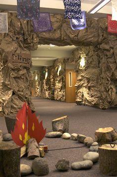 Jungle Safari Vacation Bible School VBS // Use rolls of