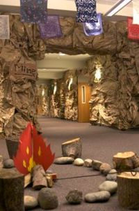 Jungle Safari Vacation Bible School VBS // Use rolls of