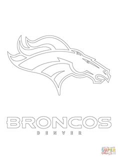 Click to see printable version of Denver Broncos Logo