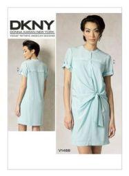 V1488 by Donna Karan for Vogue Patterns