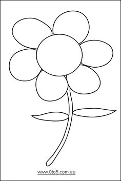 Mother's Day Lesson Plans: Unique Flower Templates and