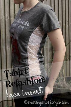 tshirt refashion wit