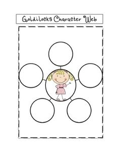 Goldilocks and the three bears story elements graphic