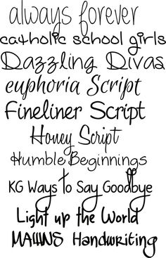 How to Fake Script Calligraphy! And 9 gorgeous script