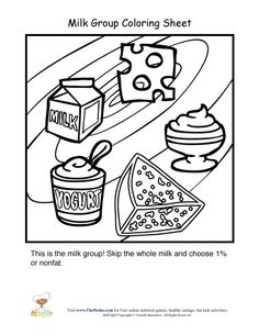 Preschool Lesson Plan on Milk & Dairy Products: Activities