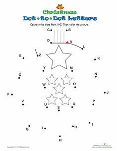 Christmas/ Native Worksheet Dot to dot; The Holy Family