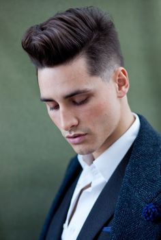 Male Quiff Short Quiff Hairstyle For Men HommeStyler Men's