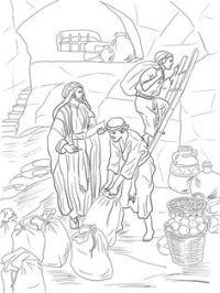 Top Joash Repairs The Temple Coloring Page - hd wallpaper