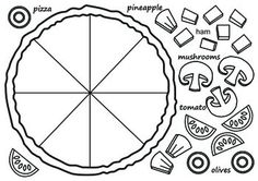 Fractions, Templates and Circles on Pinterest