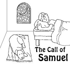Old 1955 film strip Samuel Bible story from the Moody